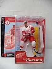 Mcfarlane NHL series 7 Action Figure Chris Chelios (Detroit Red Wings)