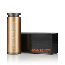 Dabpress Cylinder Rosin Pre Press Mold | Puck Chips Maker Pairs 2x4 Rosin Bags