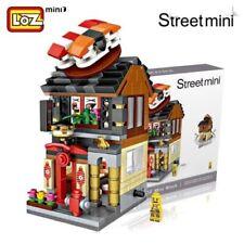 LOZ Street Mini Sushi Restaurant Kids Puzzle Mini Block Brick Toy w/Box