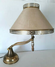 Vtg Banker Piano Desk Lamp Adjustable Light Table Shade -from Old Church Works!