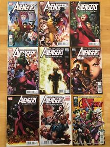 Avengers: The Children's Crusade 1-8, & Young Avengers One-Shot #1, VF-NM