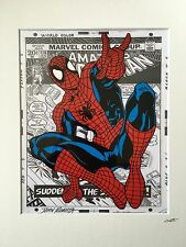 Spider-Man - Marvel Comics - Hand Drawn & Hand Painted Cel