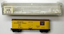 MTL Micro-Trains 47280 Burlington Refrigerator Express BREX 74617