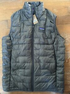 Patagonia Micro Puff Vest - Men's Large ~ $199.00 Forge Grey 84075