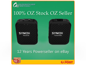 SYNCO 2.4G Wireless Microphone 1 trigger 1