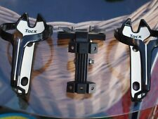 2x Flaschenhalter 35gr. 1x Träger Flaschenhalter Sattel Saddle Clamp TACX