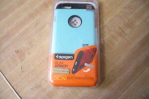 Spigen Slim Armor Case w/Kickstand For Apple iPhone 6 Plus iPhone 6s Plus Mint