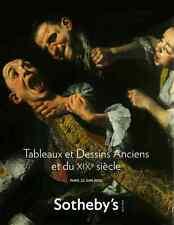 SOTHEBY'S TABLEAUX ET DESSINS ANCIENS ET DU XIX SIECLE