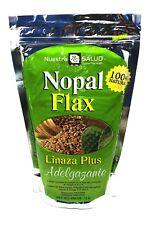 Colon Cleanser Nopal Flax Linaza Plus Adelgazante 100% Natural