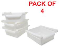 Fridge Storage Box Drawers ( Pack of 4) / Slide Shelf / Fridge Organiser #K1