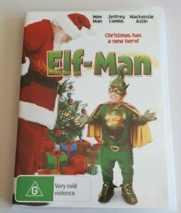 Elf-Man - Jeffrey Combs   - PAL DVD Region 4