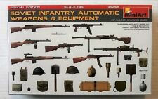 Miniart 35268 1:35th scale Soviet Infantry Automatic Weapons & Equipment (PE)