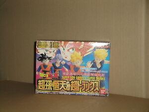 SUPER SON GOTEN & SUPER TRUNKS FULL ACTION KIT DRAGON BALL # 3 BY BANDAI NEW