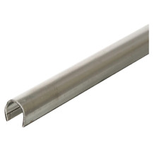 Sliding Patio Glass Door Repair Track Rail Cover 1/4 In. X 8 Ft. Stainless Steel