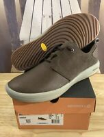 Merrell Men's Gridway Leather Vibram Shoes Size 9.5 J98811 MSRP $130 Brown