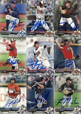 ZAC LOWTHER SIGNED 2017 BOWMAN DRAFT PROSPECT ROOKIE CARD AUTO