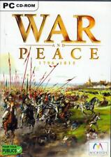 JEU PC CD ROM../...WAR AND PEACE.....1796 - 1815