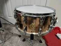 Gretsch USA Polished Bronze 14x6.5 Snare Drum, MINT! BARGAIN PRICE $399.99