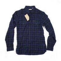 NWT [Size M] Burberry Brit Mens Bryant Textural Regular Fit Button Down Shirt