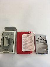 NIB Restoration Hardware 1955 Pocket Hand Warmer replica repro lighter silver