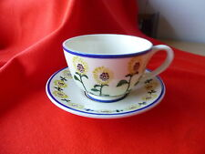 Tableware British Art Pottery Cups & Saucers
