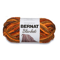 Bernat Blanket Super Bulky Yarn Fall Leaves Luxuriously Soft 5.3 oz. Polyester