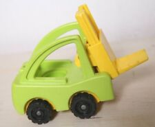 VTG Fisher Price Lift & Load Railroad Fork Lift Little People NICE Condition