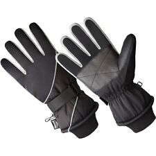 HANDS on Men's Premium Ski Glove - 40 Gm 3M Thinsulate Lined One Size