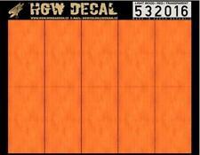 HGW 1:32 Transparent Red Light Wood Grain Decal Sheet #532016