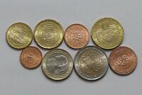 AUSTRIA 2007 EURO COIN SET HIGH GRADE B24 YF31