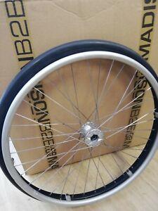 24 inch wheelchair wheels black,  Quickie wheelchair wheels