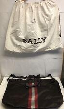 BALLY BAG NYLON BROWN