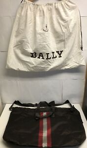 BALLY BAG NYLON BROWN