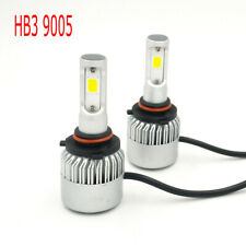 2x 9005 HB3 LED Headlight Bulb High Low Beam Conversion Kit 6000K 390000LM White