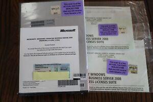 Factory Sealed- 505539-B21 HP Essential Business Server 2008 Premium 85 CAL