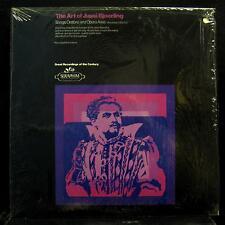 Jussi Bjoerling - The Art Of LP Mint- SERAPHIM 60168 Mono Vinyl Record w/Insert