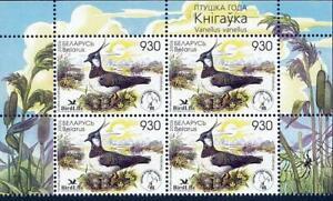👉 BELARUS 2006 BIRDS  MNH LAPWINGS