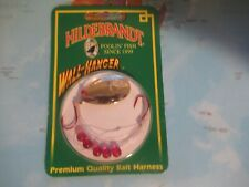 Hildebrandt Number 3 1/2  Blade Wall-Hanger Premium Quality Bait Harness Gold!!!