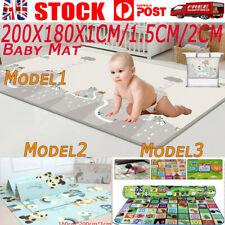 200/180CM Non-Slip Baby Carpet Game Mat Foam Puzzle Pad Baby Crawling Blanket