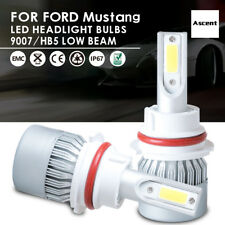 Power Cree 9007/HB5 High Low Beam LED Headlight Bulbs For Ford Mustang 2004-2002