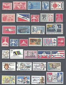 Air Mail for Beginners - Starter Collection of 33 Stamps C33//C120 - Mint NH