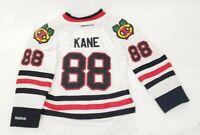 Patrick Kane Chicago Blackhawks #88 Reebok Jersey Child Small away white