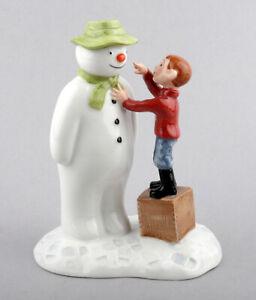 Royal Doulton Ltd Edition Snowman Figurine - Dressing The Snowman