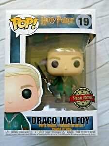 Draco Malfoy Quidditch Robes Funko Pop Vinyl Harry Potter Special Exclusive