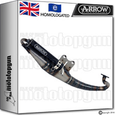 ARROW FULL EXHAUST SYSTEM EXTREME DARK DARK HOM PIAGGIO TYPHOON 50 2004 04