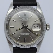 VINTAGE 1978 Rolex Datejust 1603 IBM Award Mens Watch = Awesome Sigma Dial =