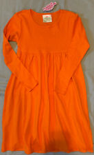 NWT Lolly Wolly Doodle 8/9 Dress Orange Knit Halloween Girl Boutique 100% Cotton