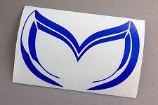 Evil M Emblem Sticker Decal Mazda Protege Miata 3 5 6 RX-7 RX-8 MX-5 Miata