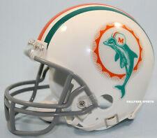 MIAMI DOLPHINS (1972 Throwback) Riddell VSR4 Mini Helmet