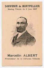 Marcellin ALBERT.Promoteur de la défense Viticole. Révolte des vignerons du Midi